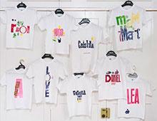 Taller camisetas niños